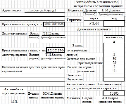листок убытия образец заполнения казахстан