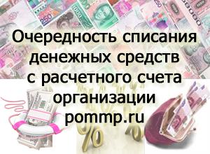 очередность списания денежных средств