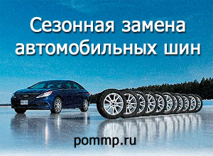 Учет сезонных автомобильных шин
